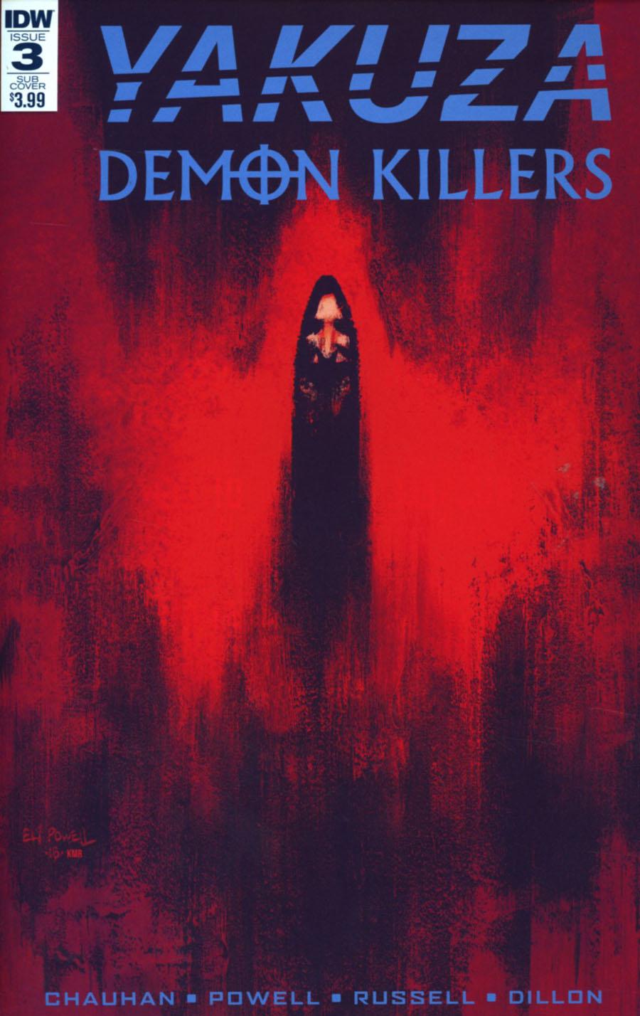 Yakuza Demon Killers #3 Cover B Variant Eli Powell Subscription Cover