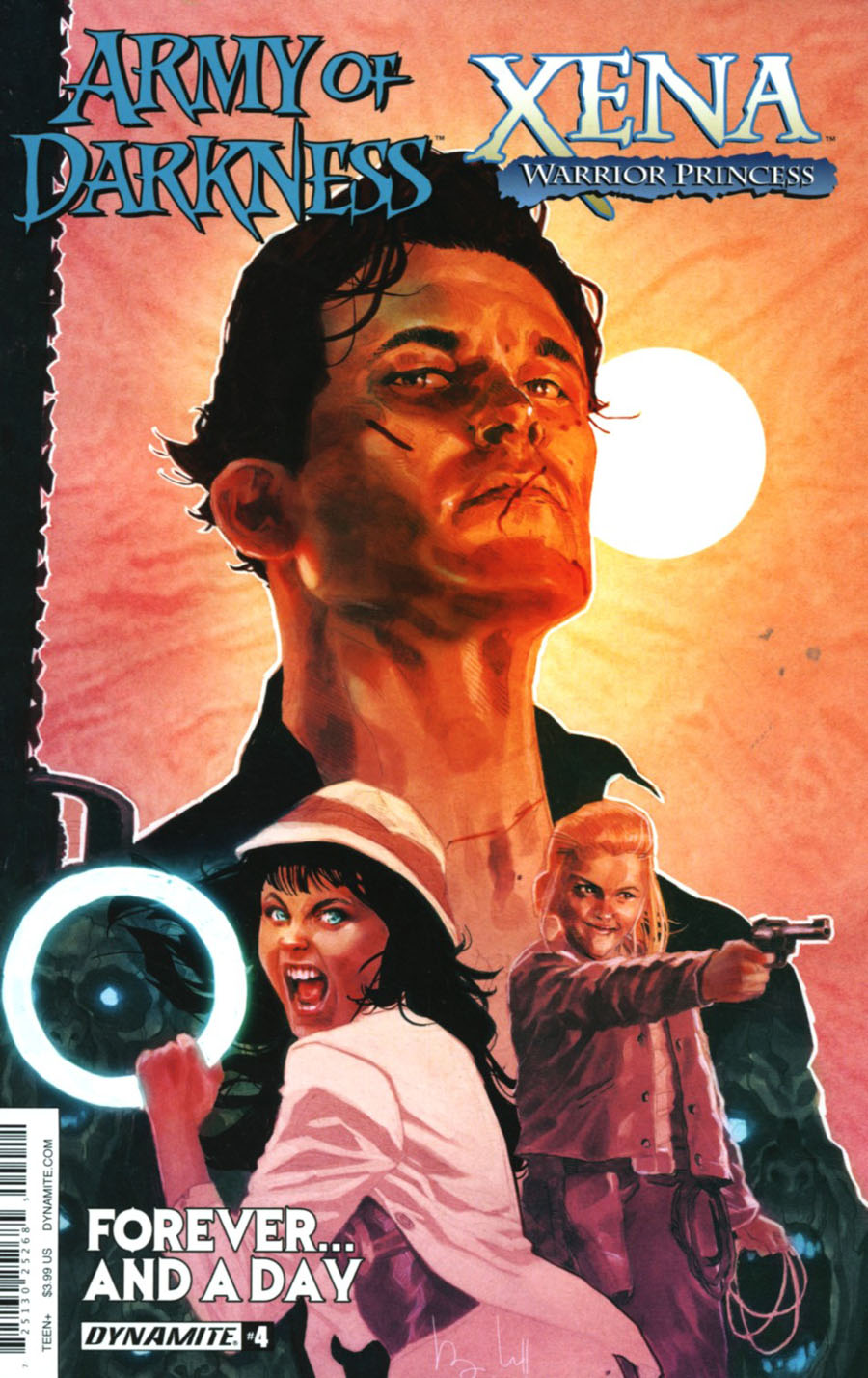 Army Of Darkness Xena Forever And A Day #4 Cover A Regular Ben Caldwell Cover