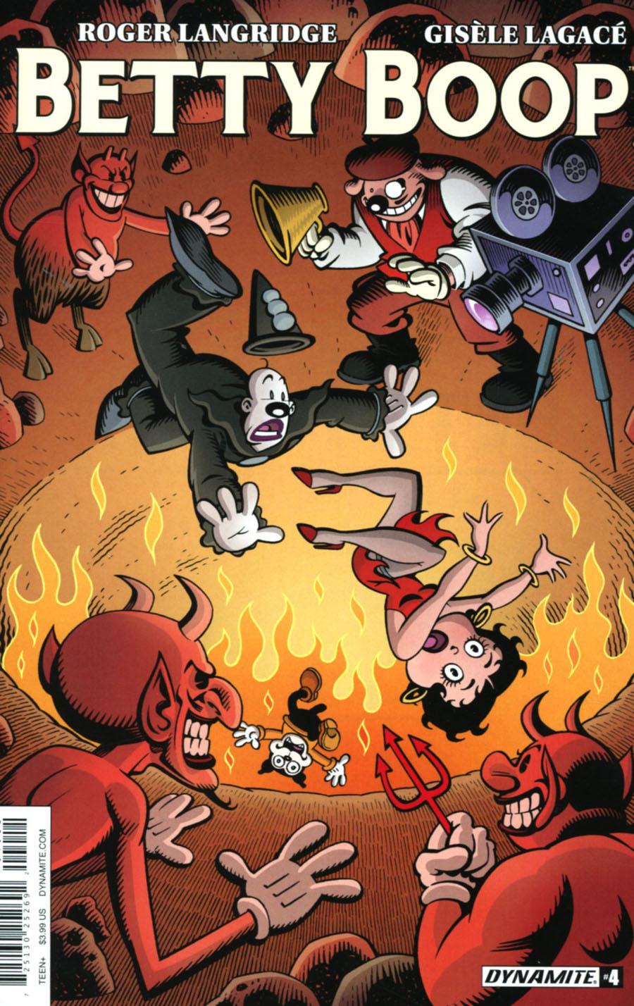 Betty Boop #4 Cover A Regular Roger Langridge Cover
