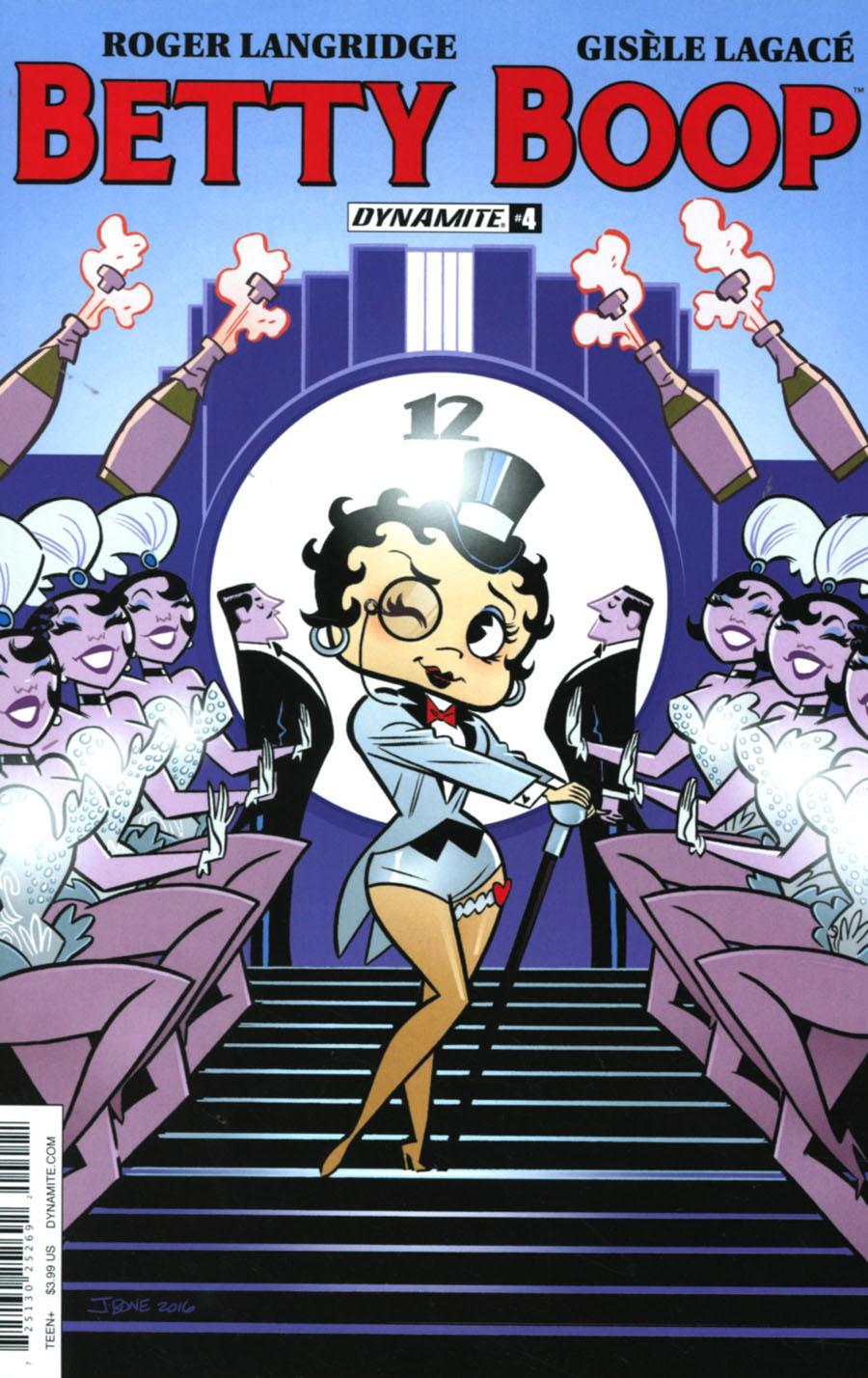 Betty Boop #4 Cover B Variant J Bone Cover