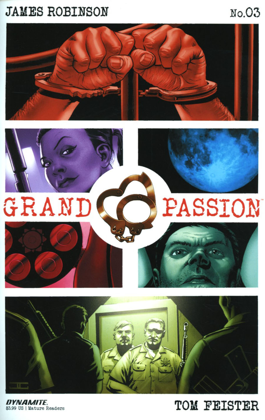Grand Passion #3 Cover A Regular John Cassaday Cover
