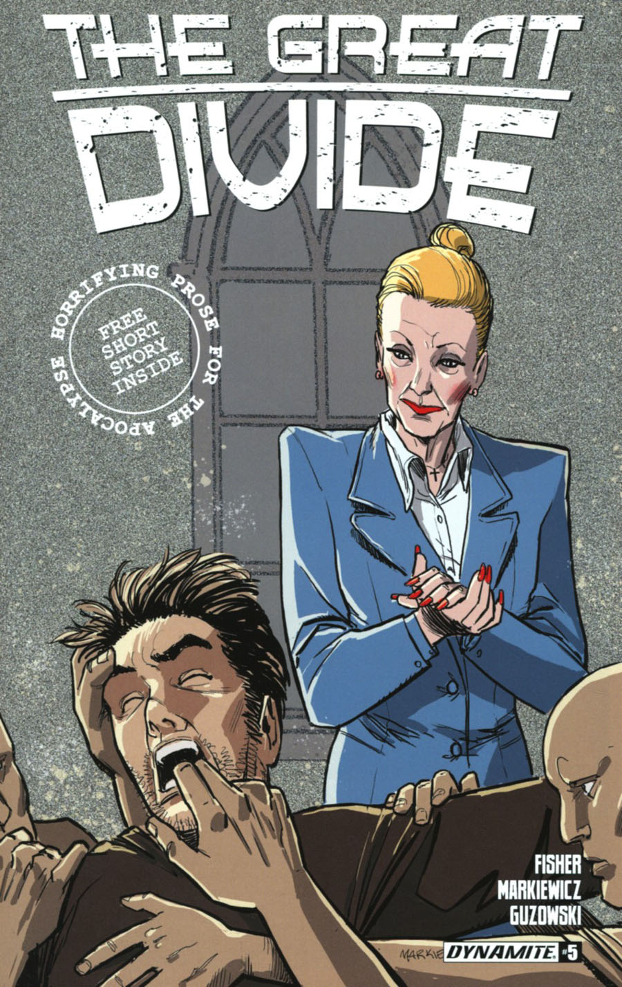 Great Divide #5 Cover A Regular Adam Markiewicz Cover