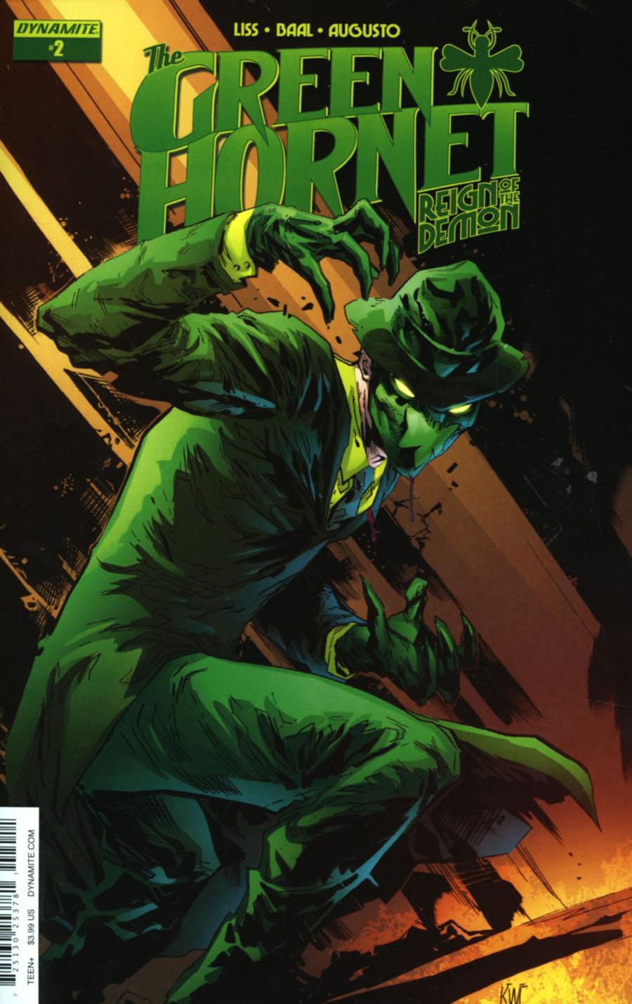 Green Hornet Reign Of The Demon #2 Cover A Regular Ken Lashley Cover