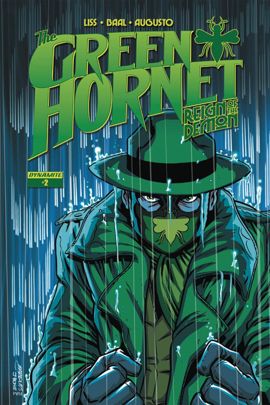 Green Hornet Reign Of The Demon #2 Cover B Variant Anthony Marques Cover