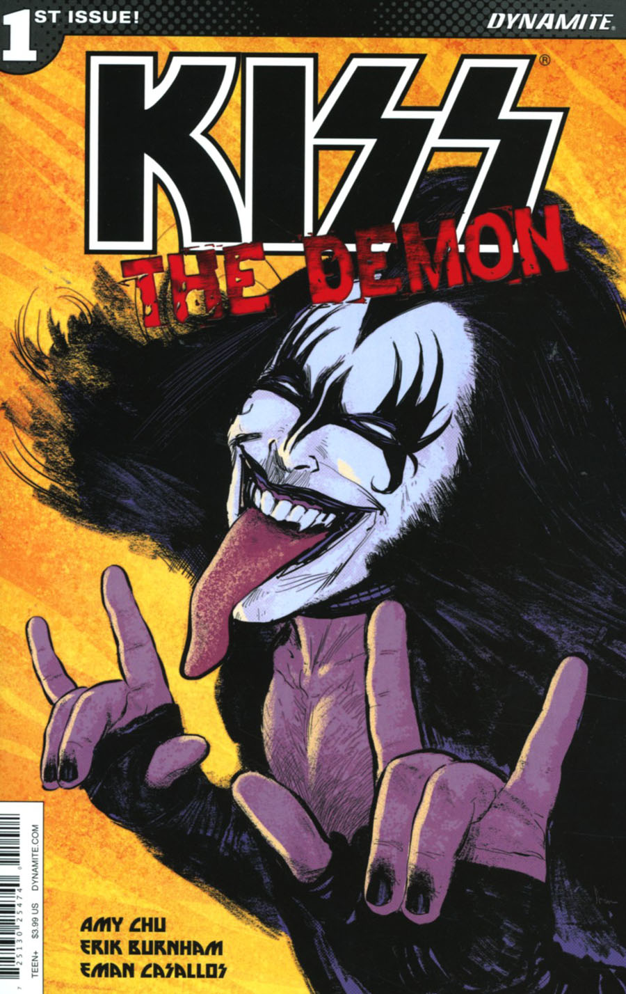 KISS The Demon #1 Cover A Regular Kyle Strahm Cover