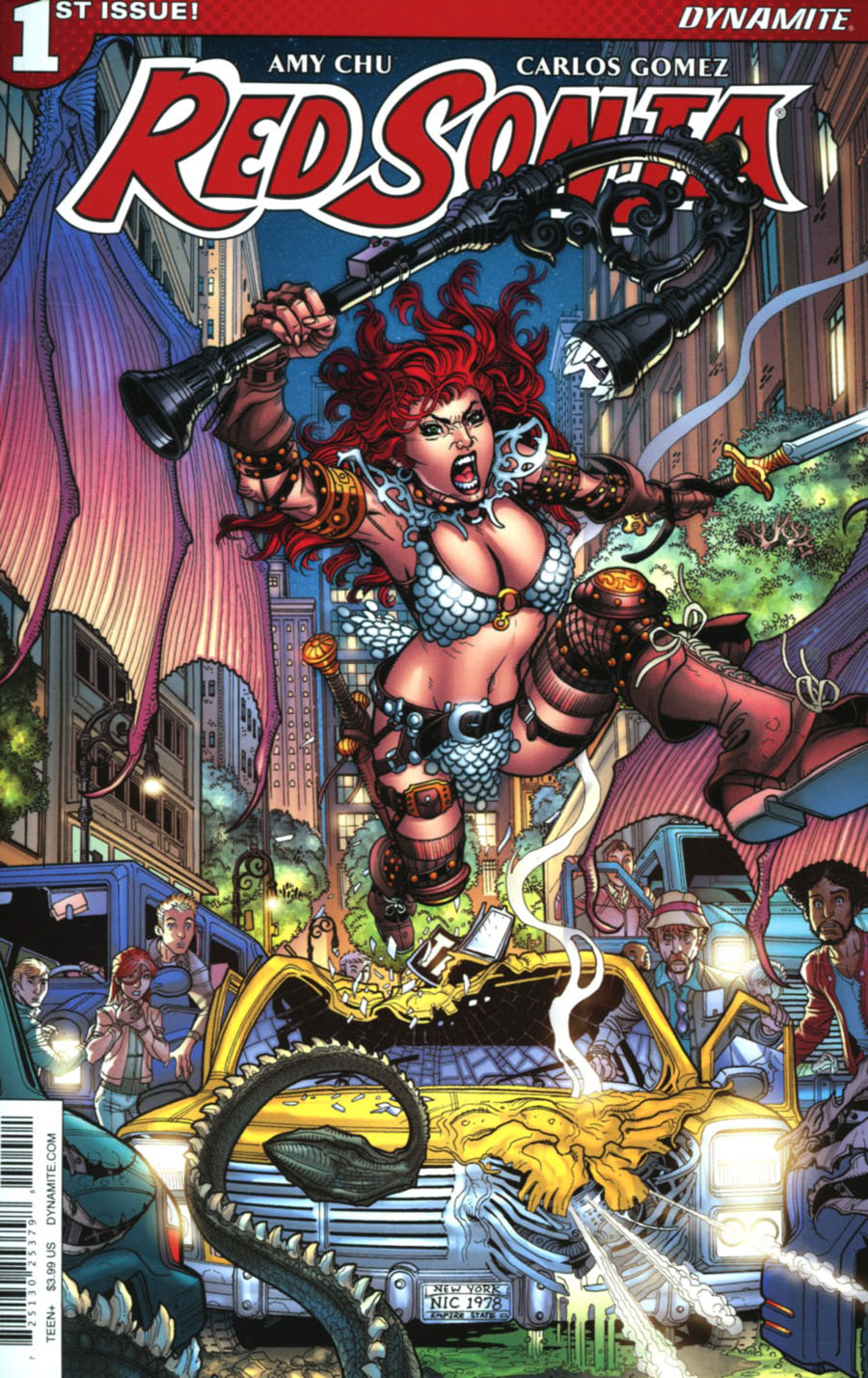Red Sonja Vol 7 #1 Cover A Regular Nick Bradshaw Cover