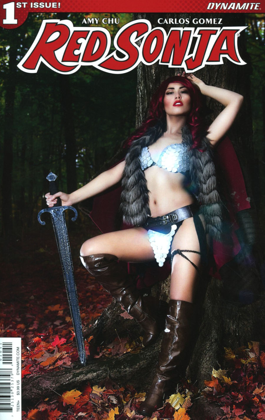 Red Sonja Vol 7 #1 Cover E Variant Cosplay Cover