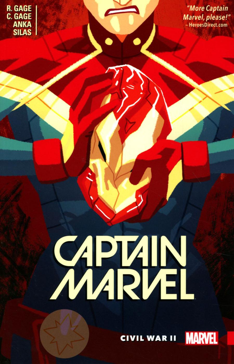 Captain Marvel (2016) Vol 2 Civil War II TP