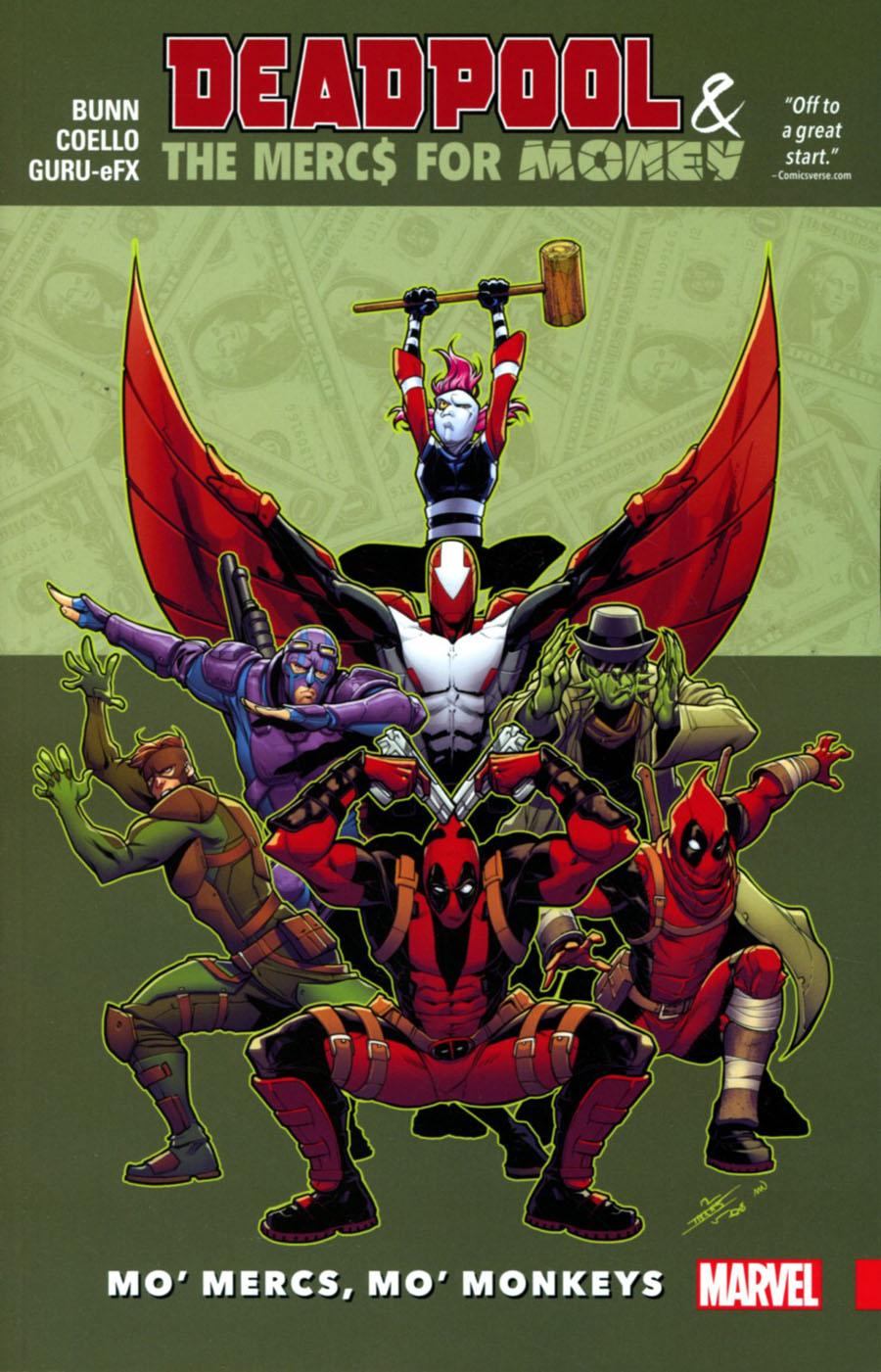 Deadpool And The Mercs For Money Vol 1 Mo Mercs Mo Monkeys TP