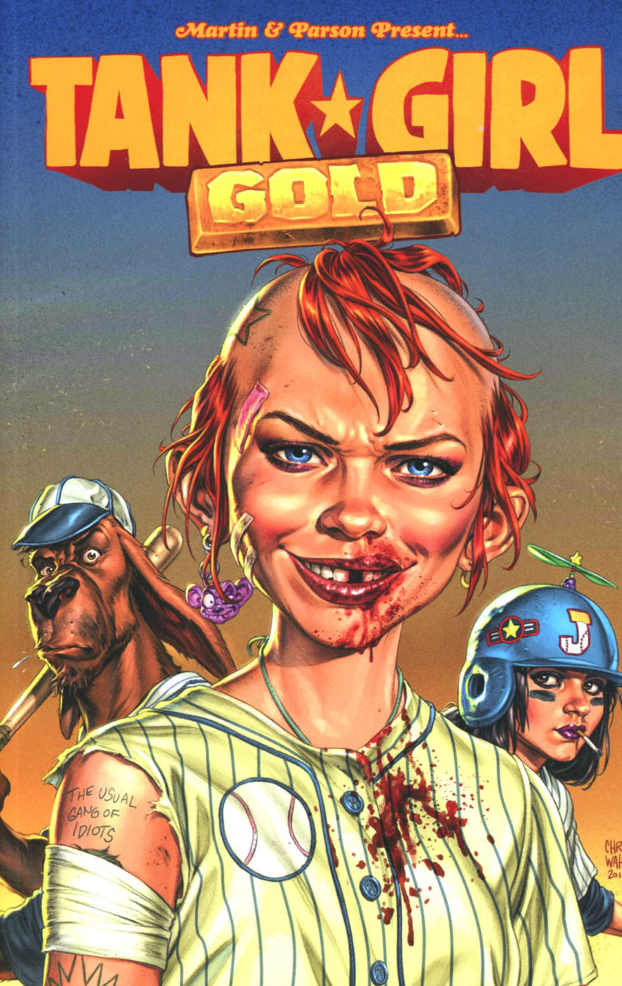 Tank Girl Gold TP