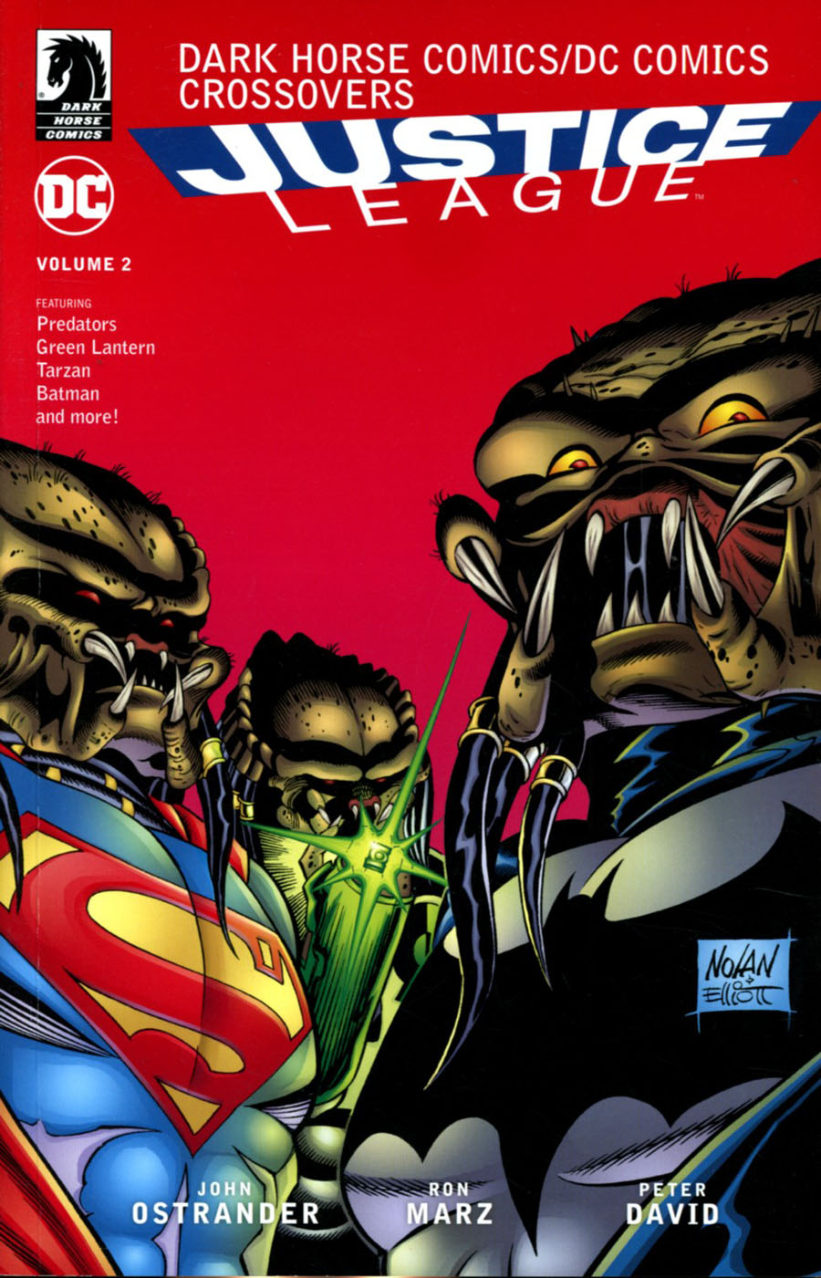 DC Comics Dark Horse Comics Justice League Vol 2 TP