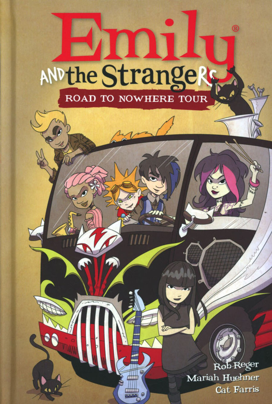 Emily And The Strangers Vol 3 Road To Nowhere Tour HC