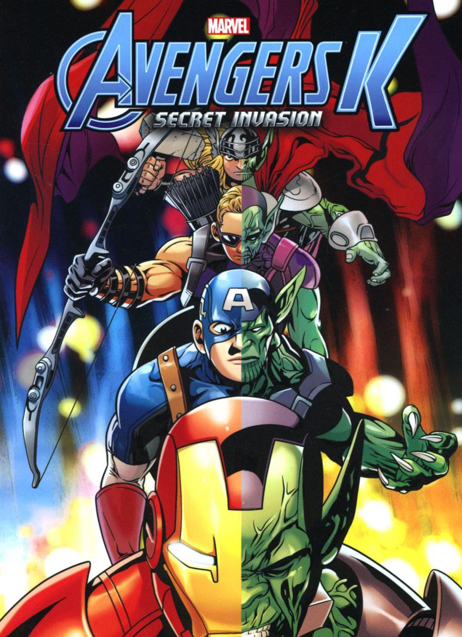 Avengers K Book 4 Secret Invasion TP