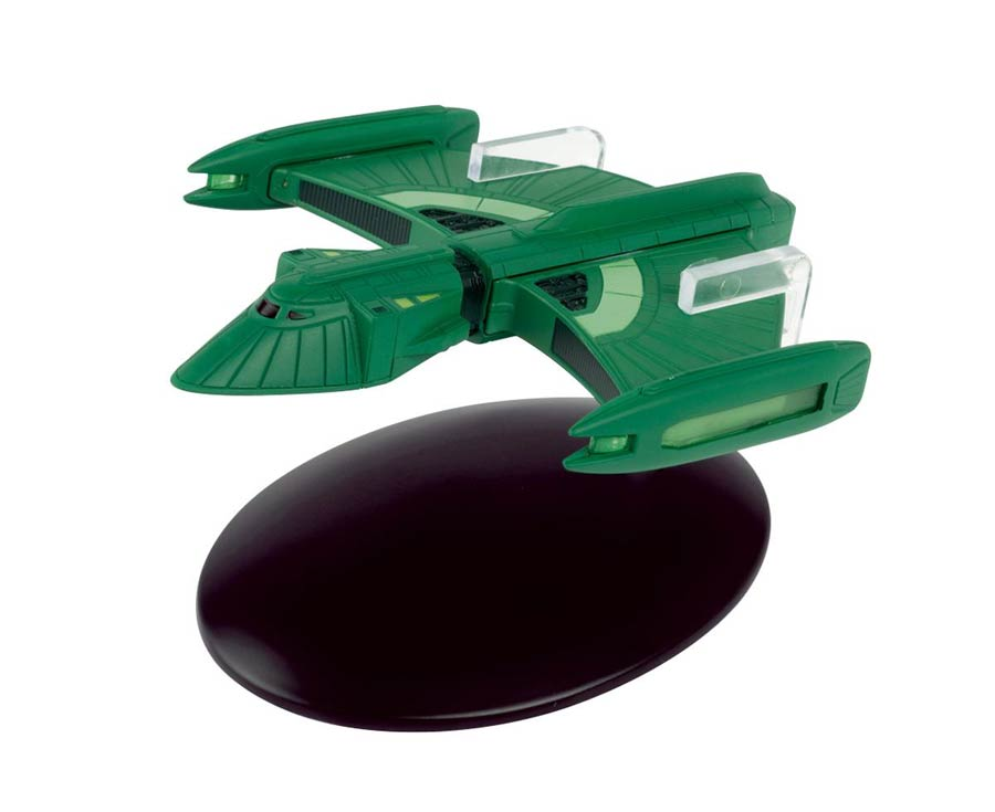 Star Trek Starships Figure Collection Magazine #90 Romulan Scout Ship