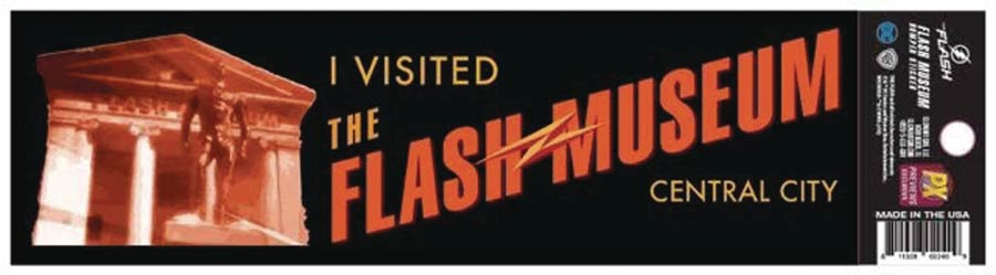 Flash TV Flash Museum Previews Exclusive Decal