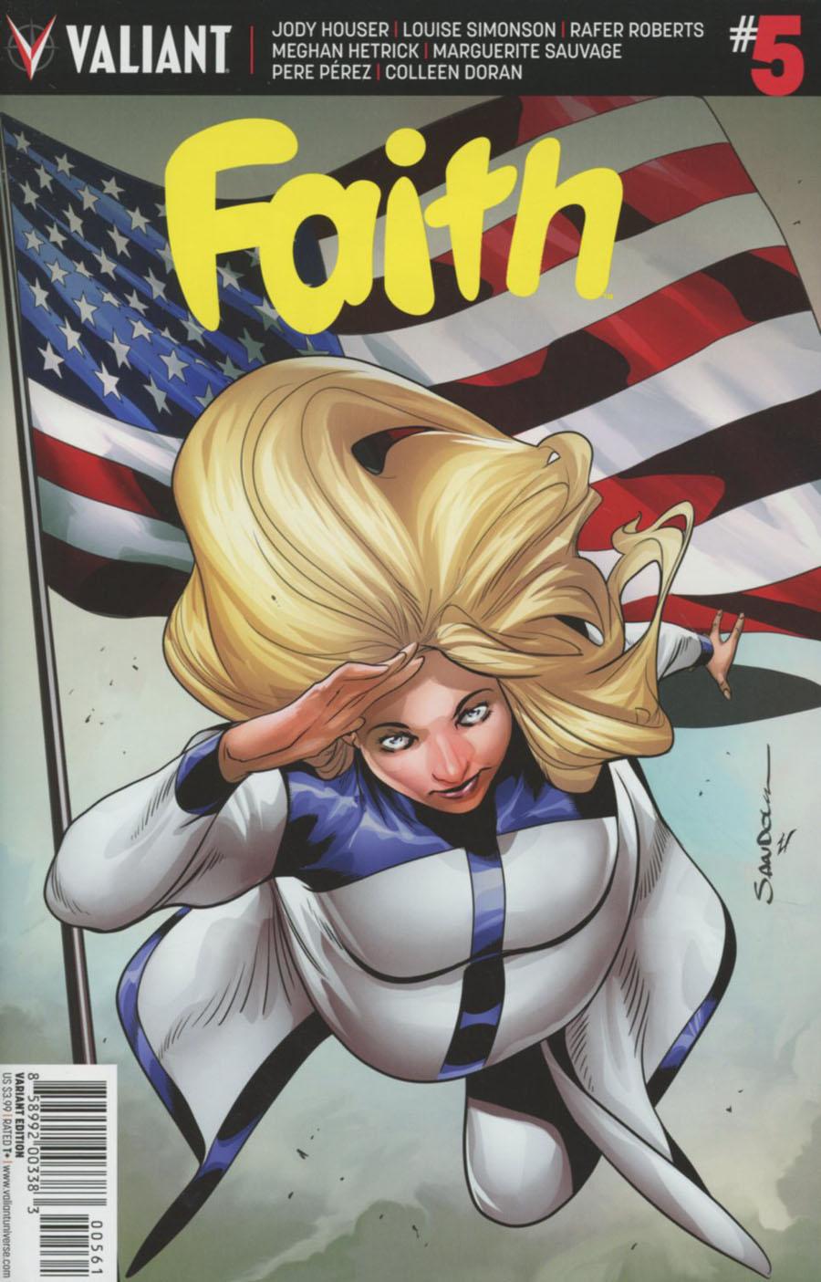 Faith (Valiant Entertainment) Vol 2 #5 Cover F Incentive Rafa Sandoval Variant Cover