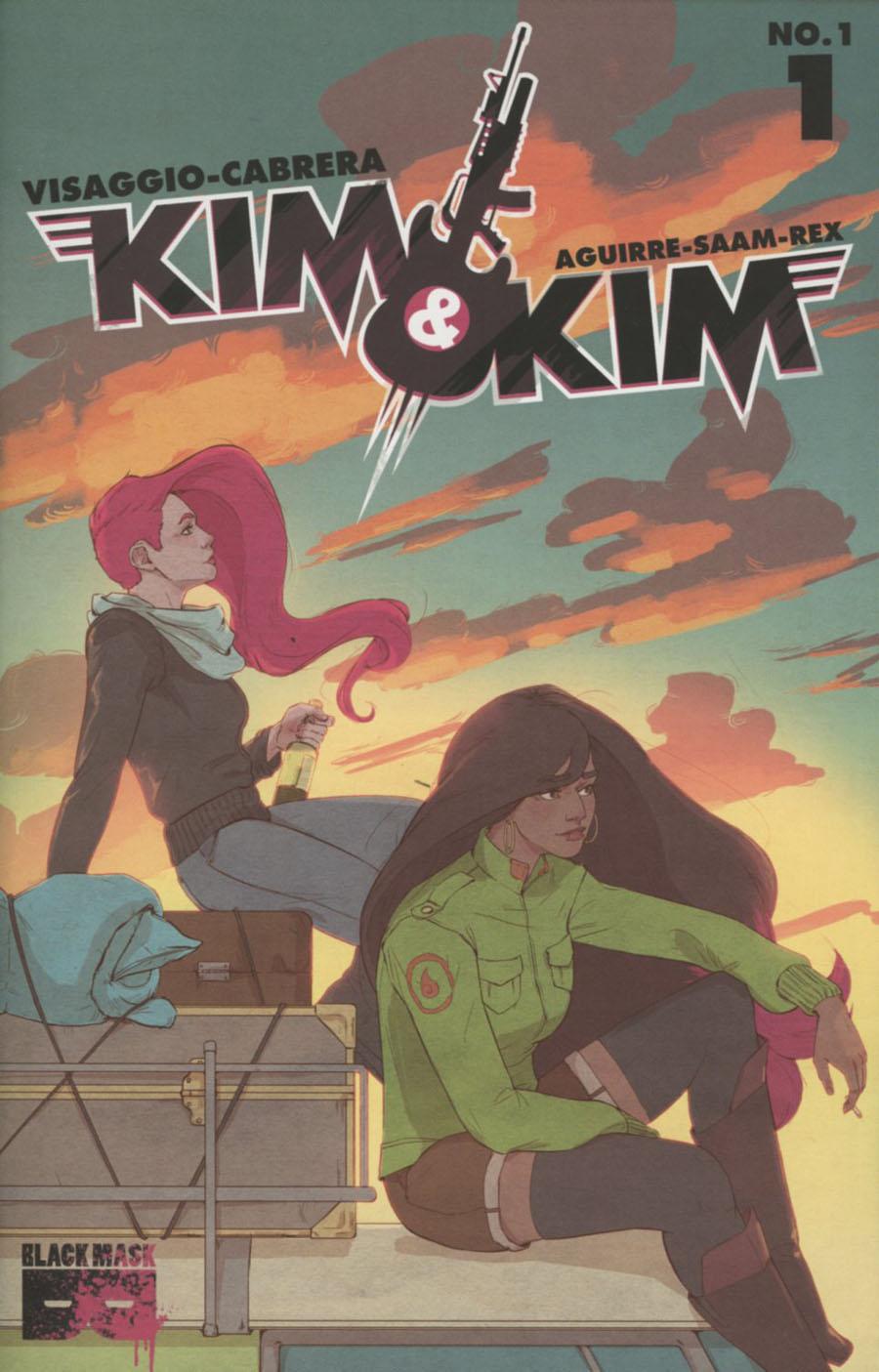 Kim & Kim #1 Cover D 2nd Ptg Tess Fowler Variant Cover