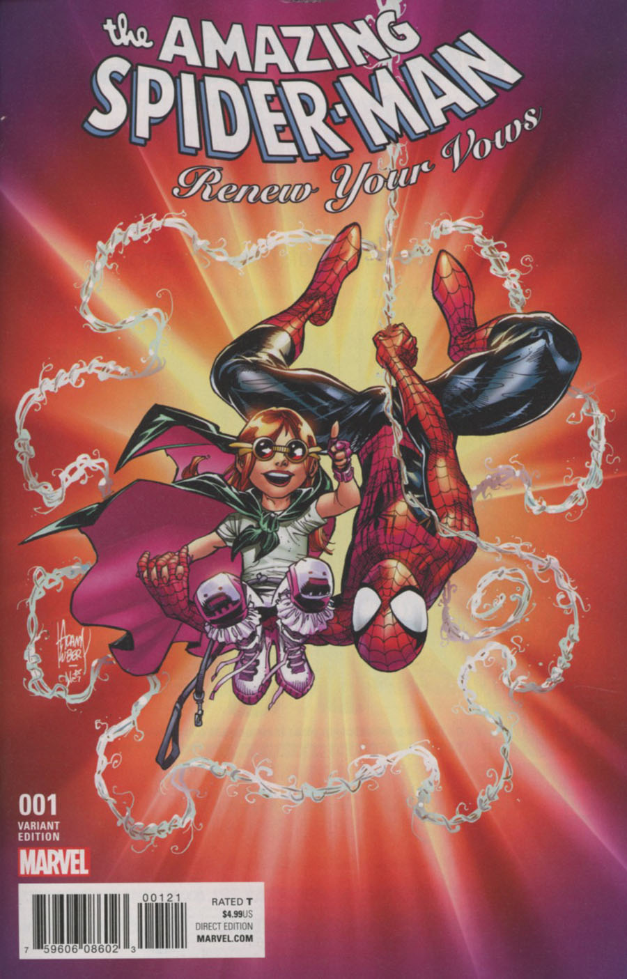 Amazing Spider-Man Renew Your Vows Vol 2 #1 Cover E Incentive Adam Kubert Variant Cover (Marvel Now Tie-In)