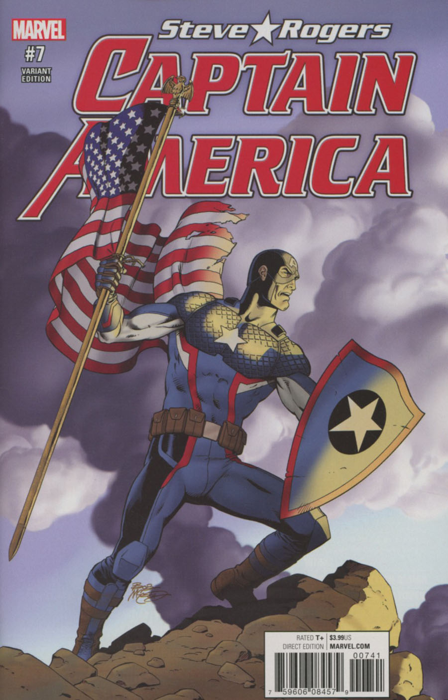 Captain America Steve Rogers #7 Cover D Incentive Classic Variant Cover (Marvel Now Tie-In)
