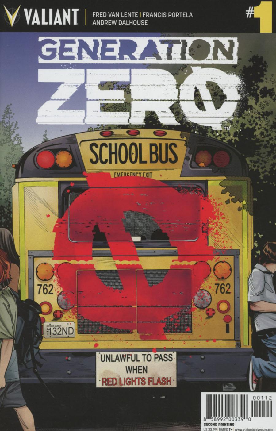 Generation Zero #1 Cover H 2nd Ptg Stephen Mooney Variant Cover