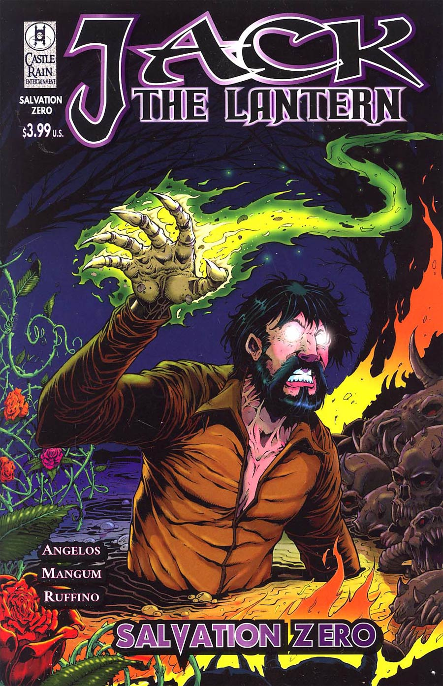 Jack The Lantern Salvation #0 Cover B Regular Mark Kidwell Cover