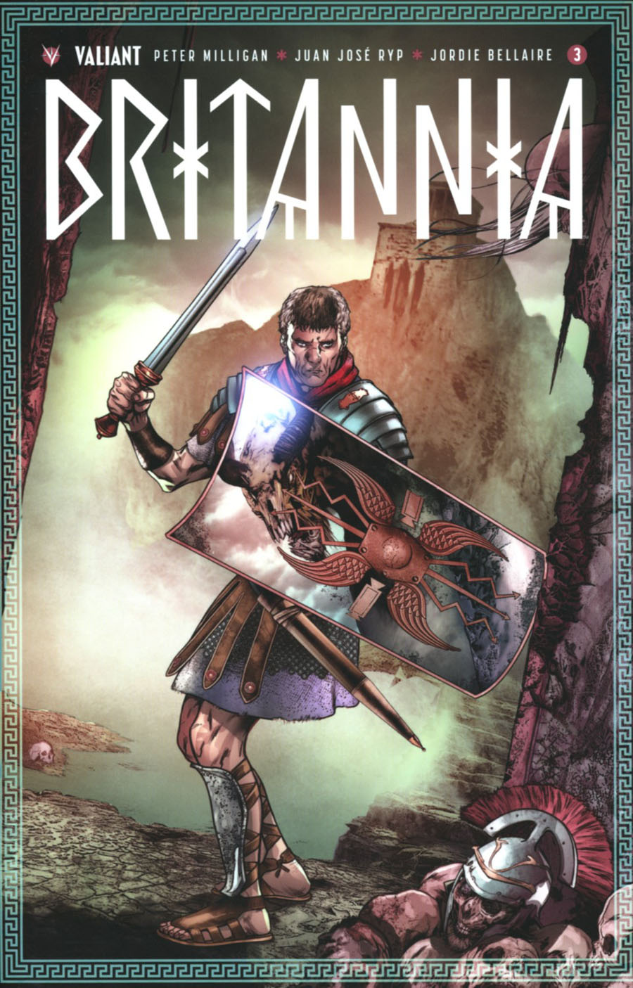 Britannia #3 Cover D Incentive Khari Evans Variant Cover
