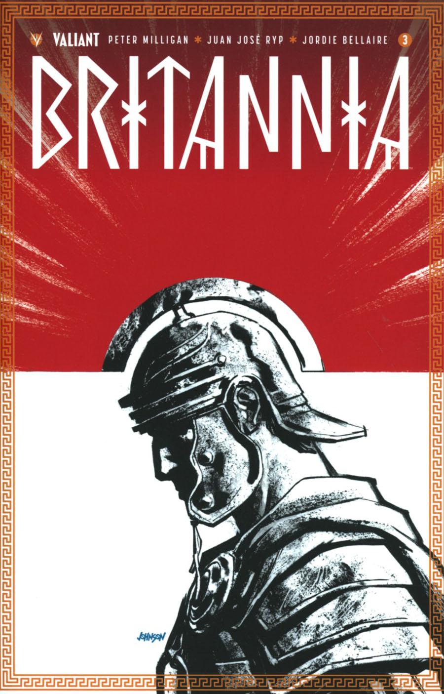 Britannia #3 Cover E Incentive Dave Johnson Variant Cover