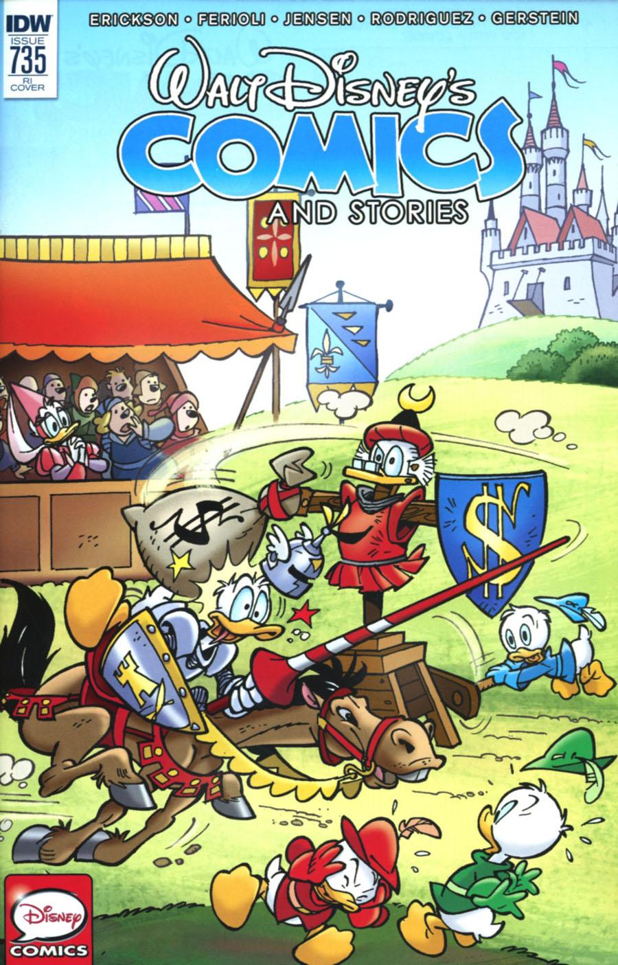 Walt Disneys Comics & Stories #735 Cover C Incentive Massimo Fecchi Variant Cover