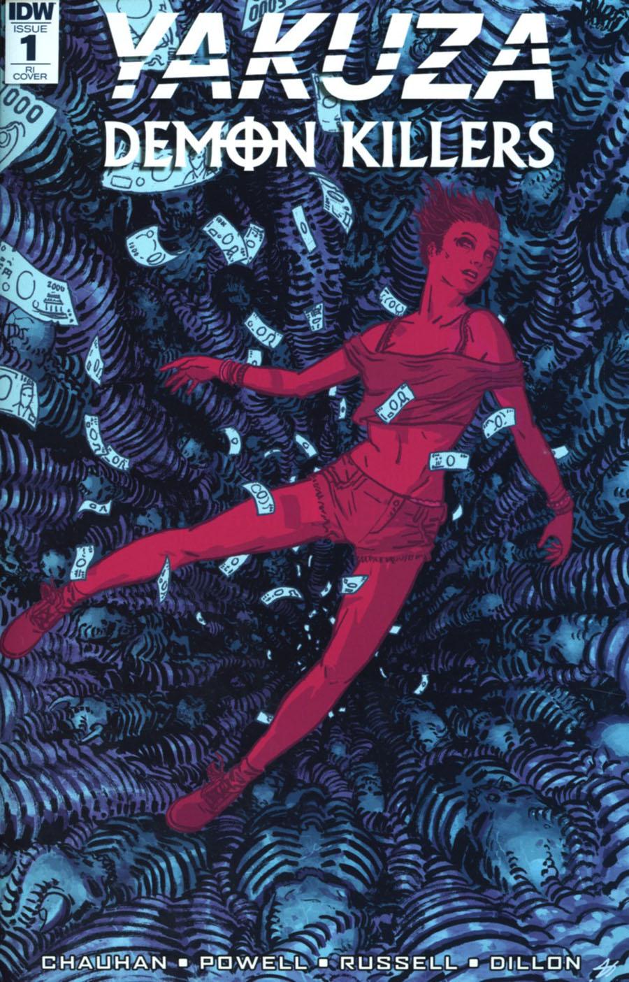 Yakuza Demon Killers #1 Cover C Incentive Josh Hixon Variant Cover