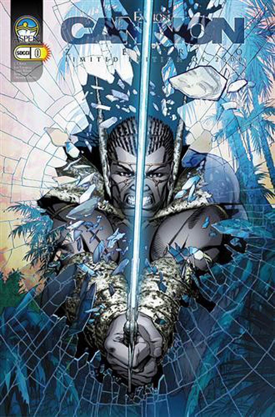 Fathom Cannon Hawke #0 Cover B Convention Exclusive Variant Cover Koi Turnbull