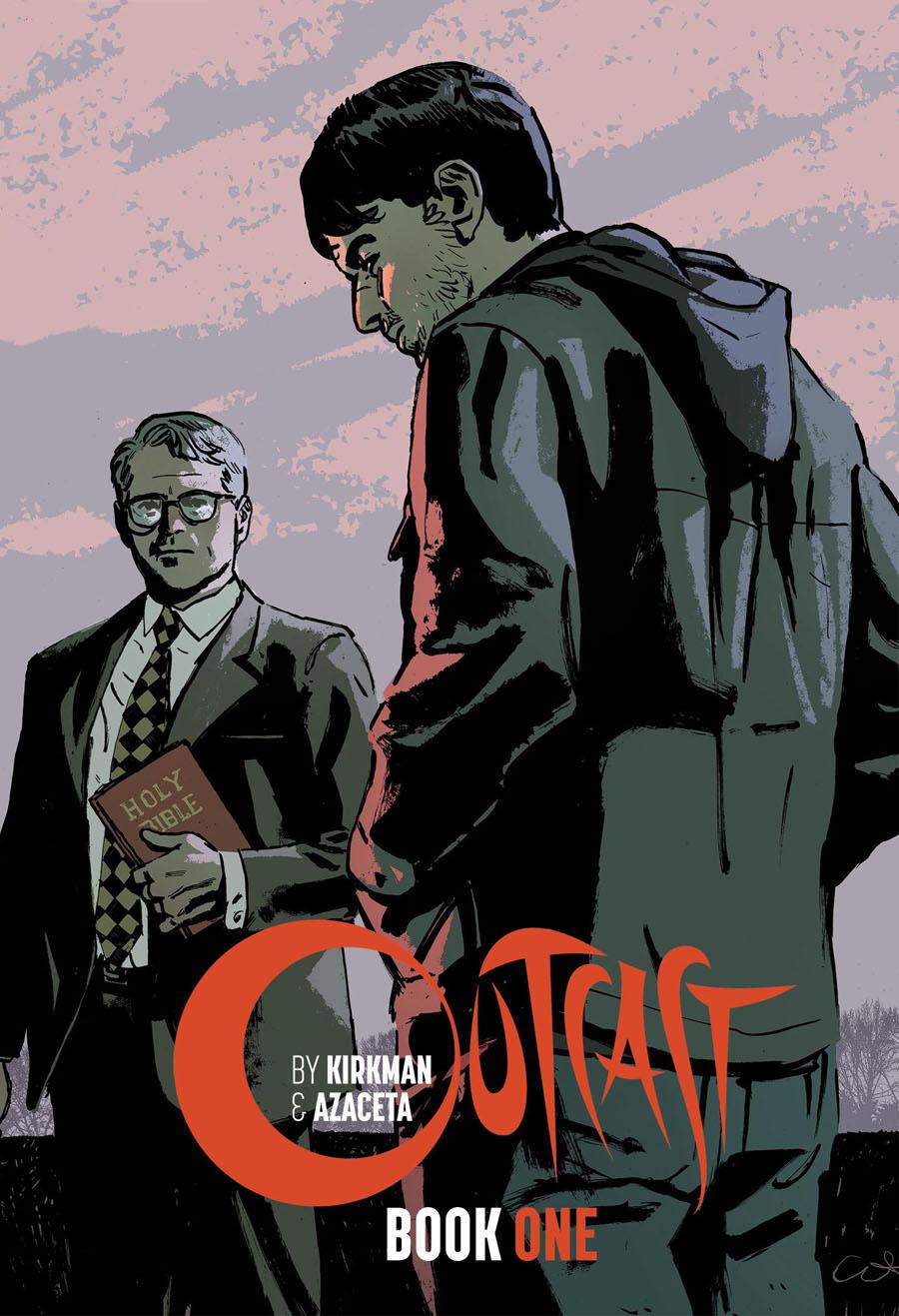 LCSD 2016 Outcast By Kirkman & Azaceta Book 1 HC Variant Cover