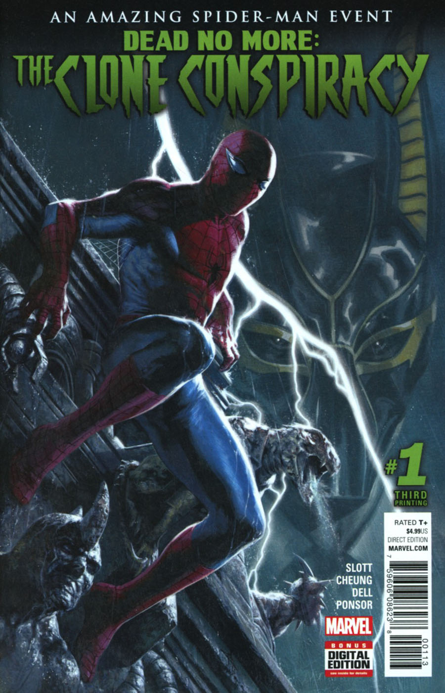 Clone Conspiracy #1 Cover I 3rd Ptg Gabriele Dell Otto Variant Cover