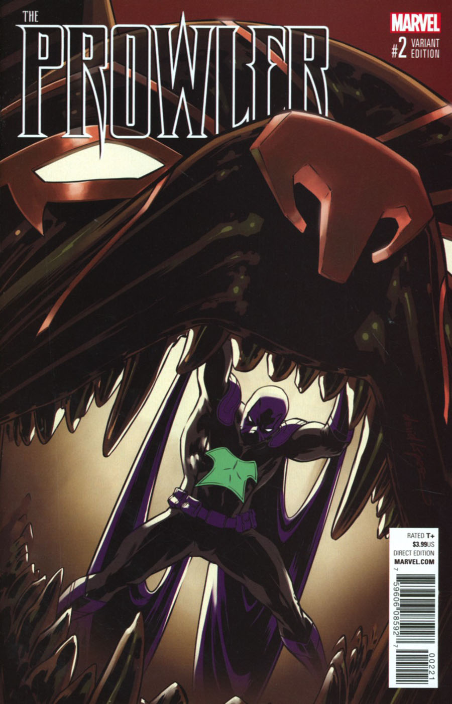 Prowler (Marvel) Vol 2 #2 Cover C Incentive David Lopez Variant Cover (Clone Conspiracy Tie-In)