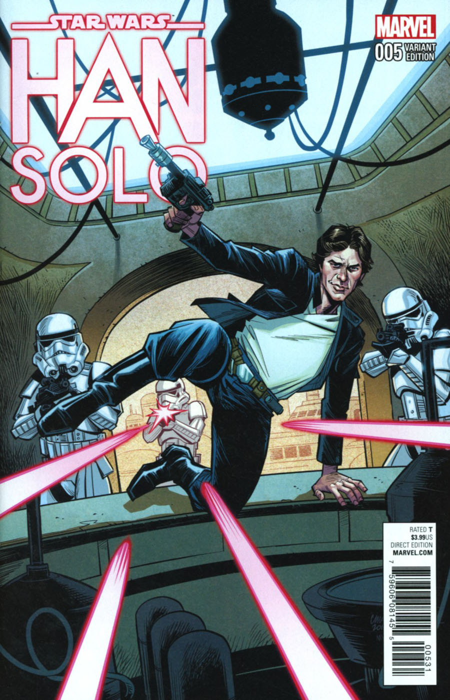 Star Wars Han Solo #5 Cover D Incentive Cameron Stewart Variant Cover