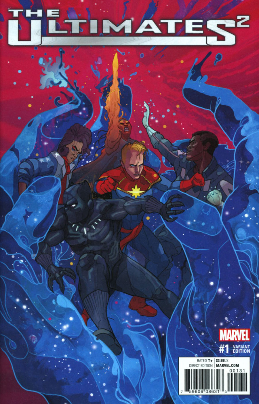 Ultimates (Squared) #1 Cover E Incentive Christian Ward Variant Cover (Marvel Now Tie-In)