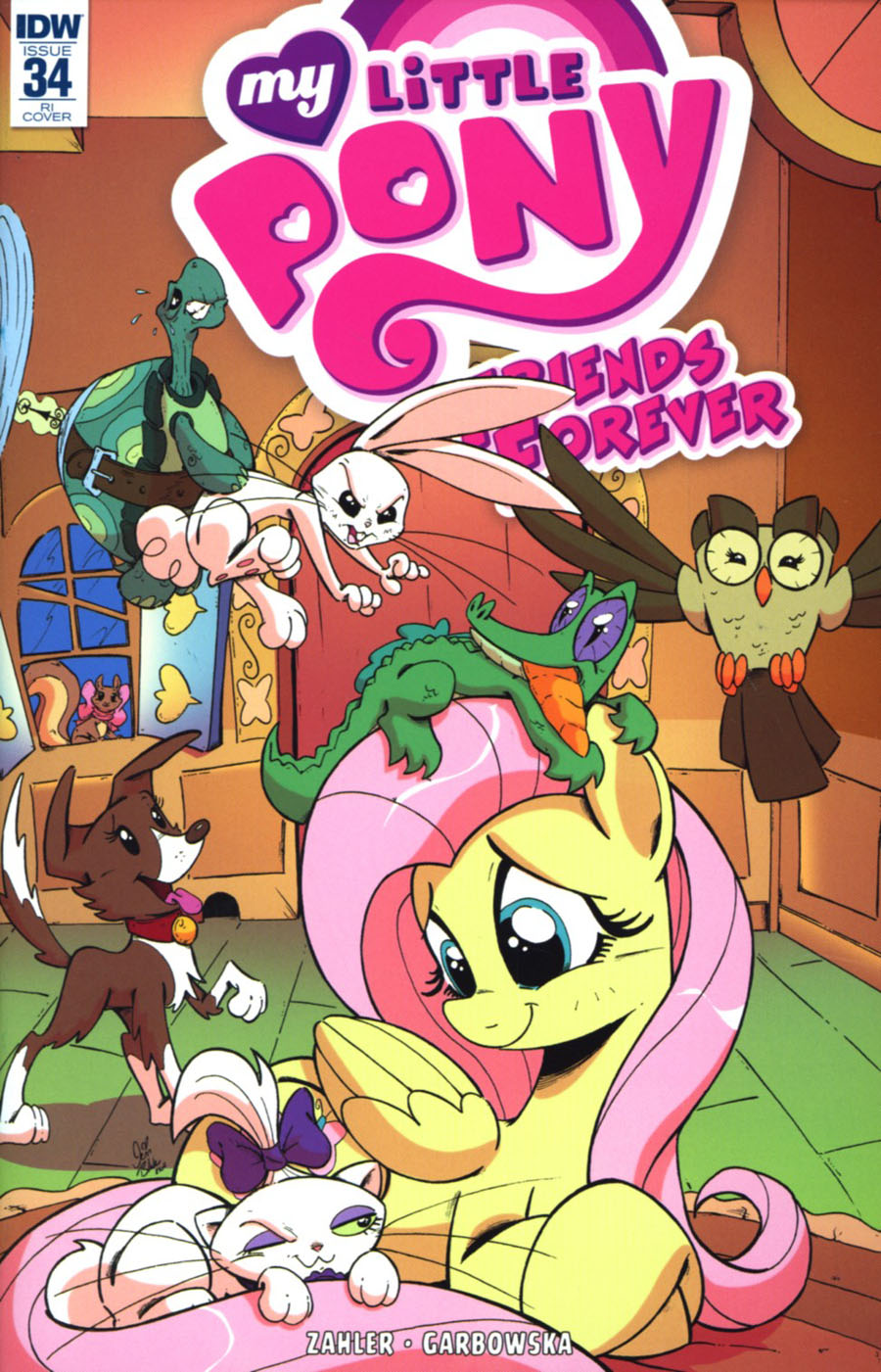 My Little Pony Friends Forever #34 Cover C Incentive Jenn Blake Variant Cover