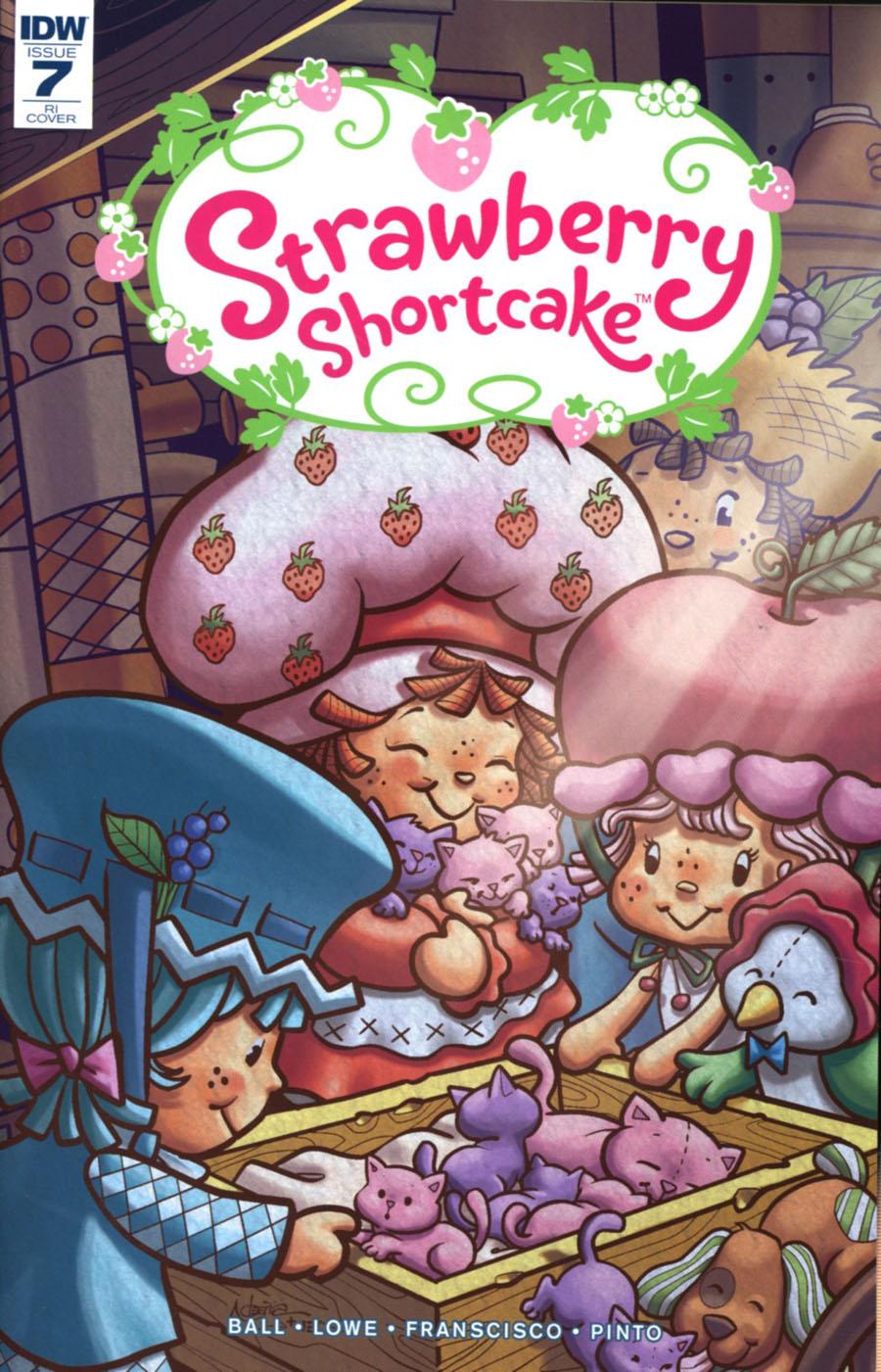 Strawberry Shortcake Vol 3 #7 Cover D Incentive Nico Pena Variant Cover
