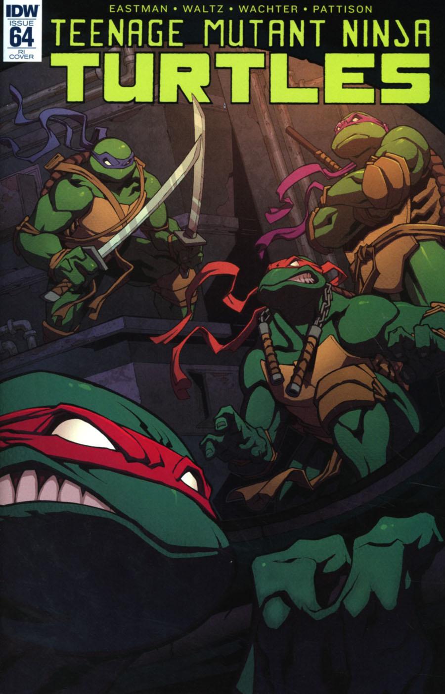 Teenage Mutant Ninja Turtles Vol 5 #64 Cover C Incentive Edwin Huang Variant Cover