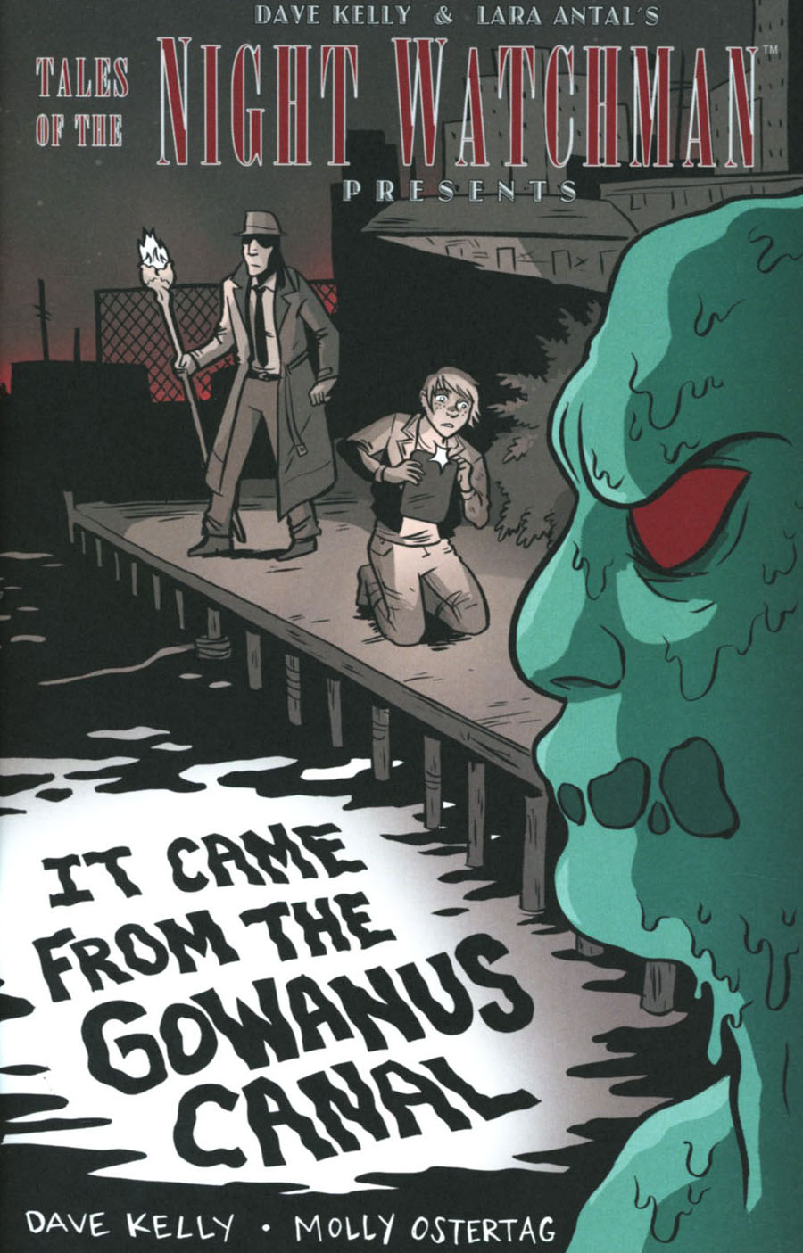 Tales Of The Night Watchman It Came From The Gowanus Canal One-Shot