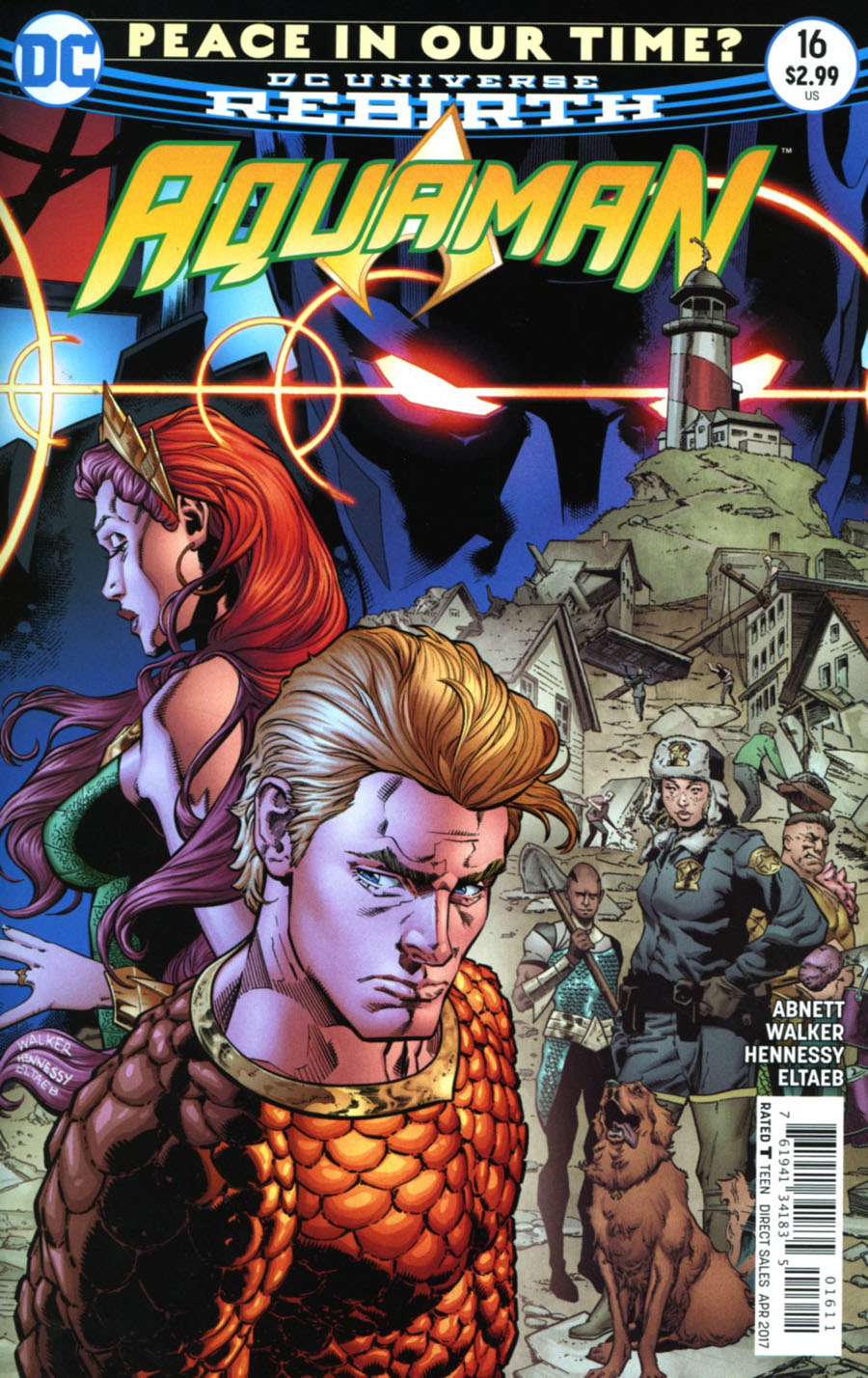 Aquaman Vol 6 #16 Cover A Regular Brad Walker & Andrew Hennessy Cover