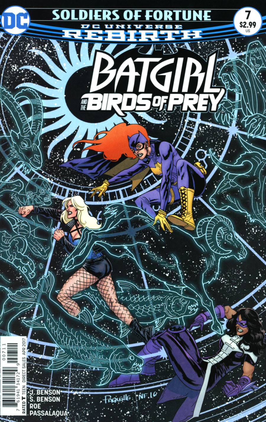 Batgirl And The Birds Of Prey #7 Cover A Regular Yanick Paquette Cover