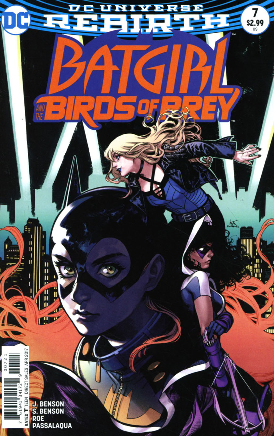Batgirl And The Birds Of Prey #7 Cover B Variant Kamome Shirahama Cover