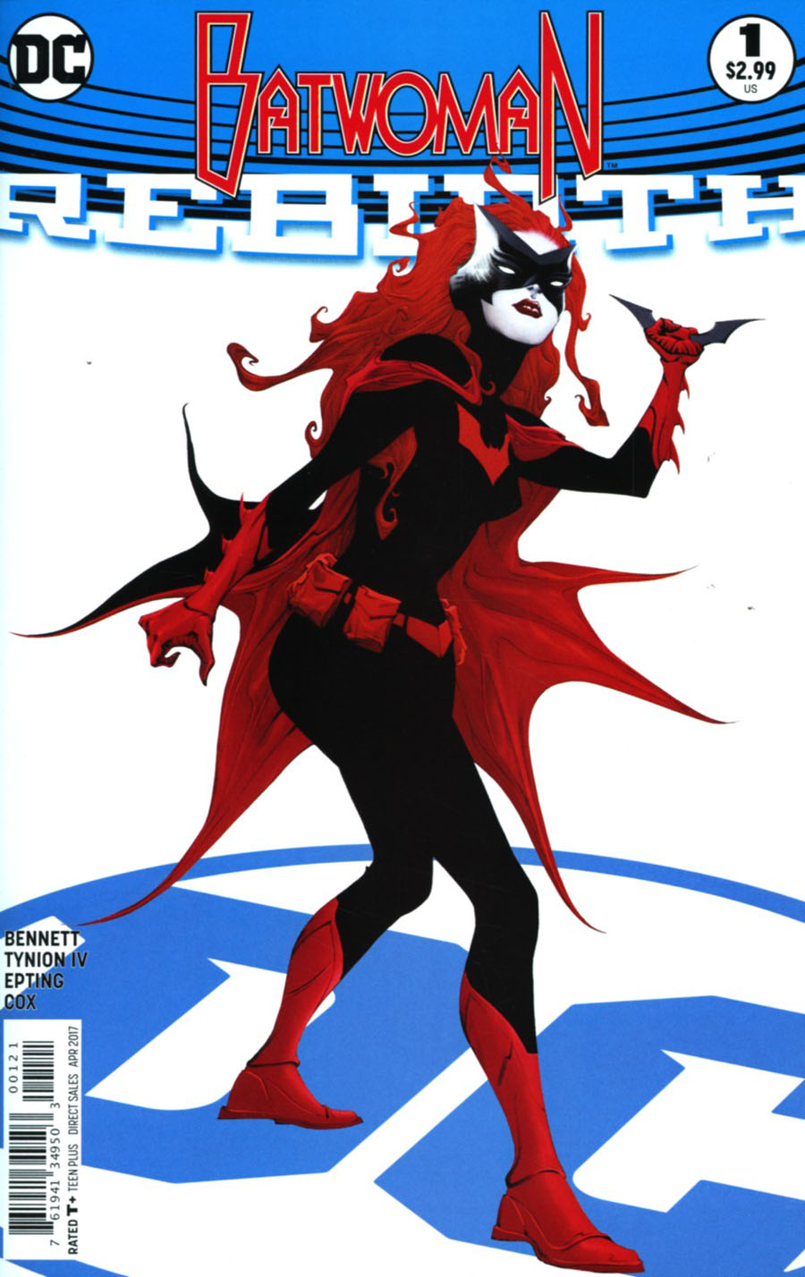 Batwoman Rebirth #1 Cover B Variant Jae Lee Cover