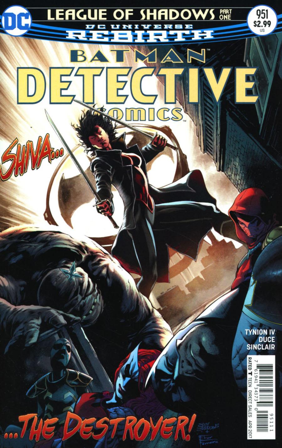 Detective Comics Vol 2 #951 Cover A Regular Eddy Barrows & Eber Ferreira Cover