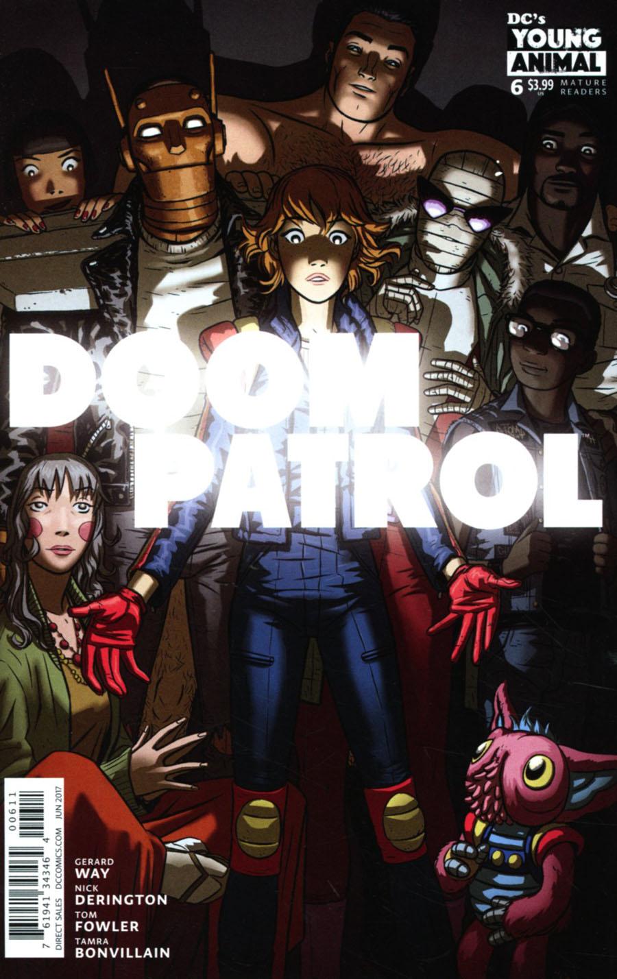 Doom Patrol Vol 6 #6 Cover A Regular Nick Derington Cover