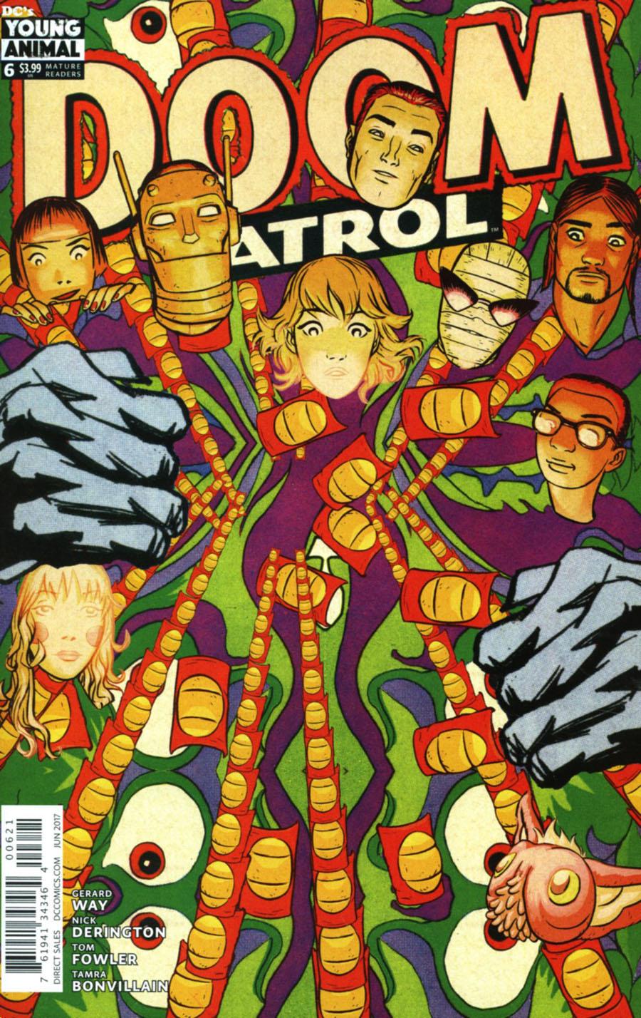 Doom Patrol Vol 6 #6 Cover B Variant Samplerman Cover