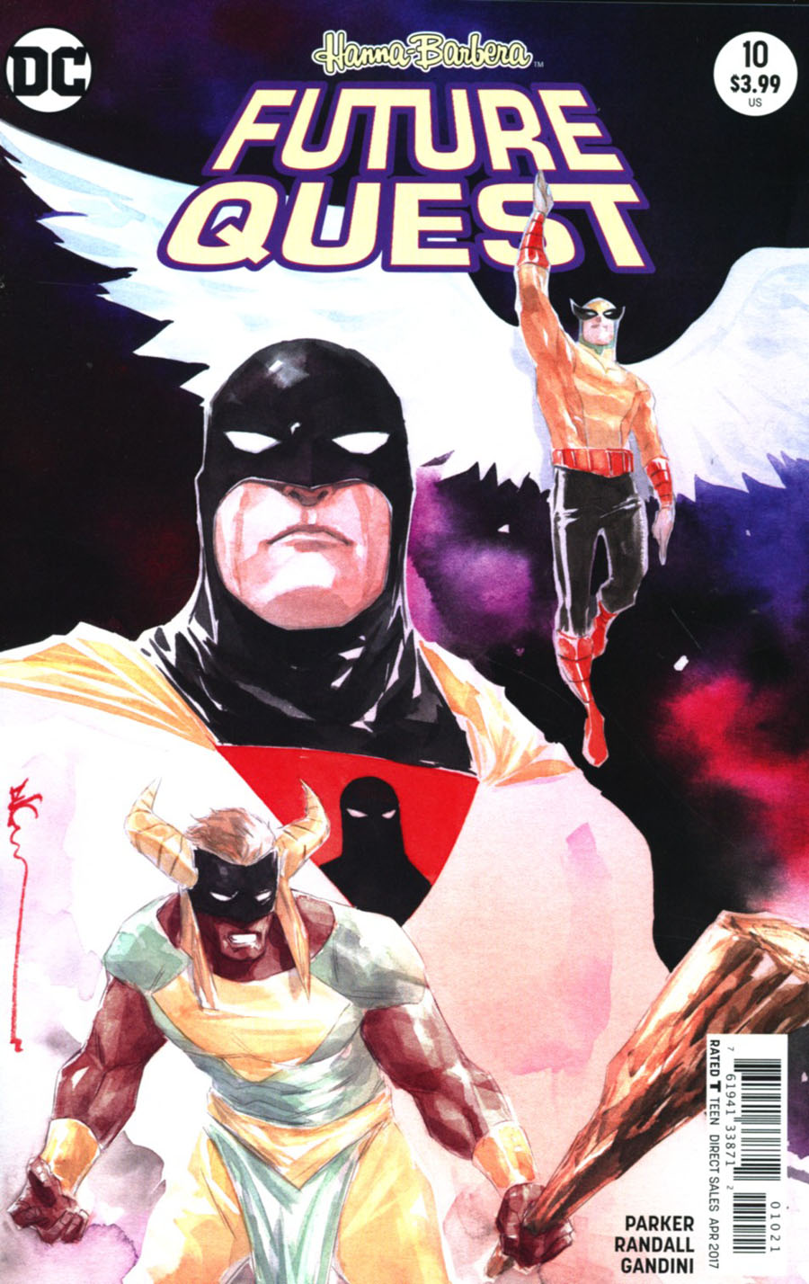 Future Quest #10 Cover B Variant Dustin Nguyen Cover