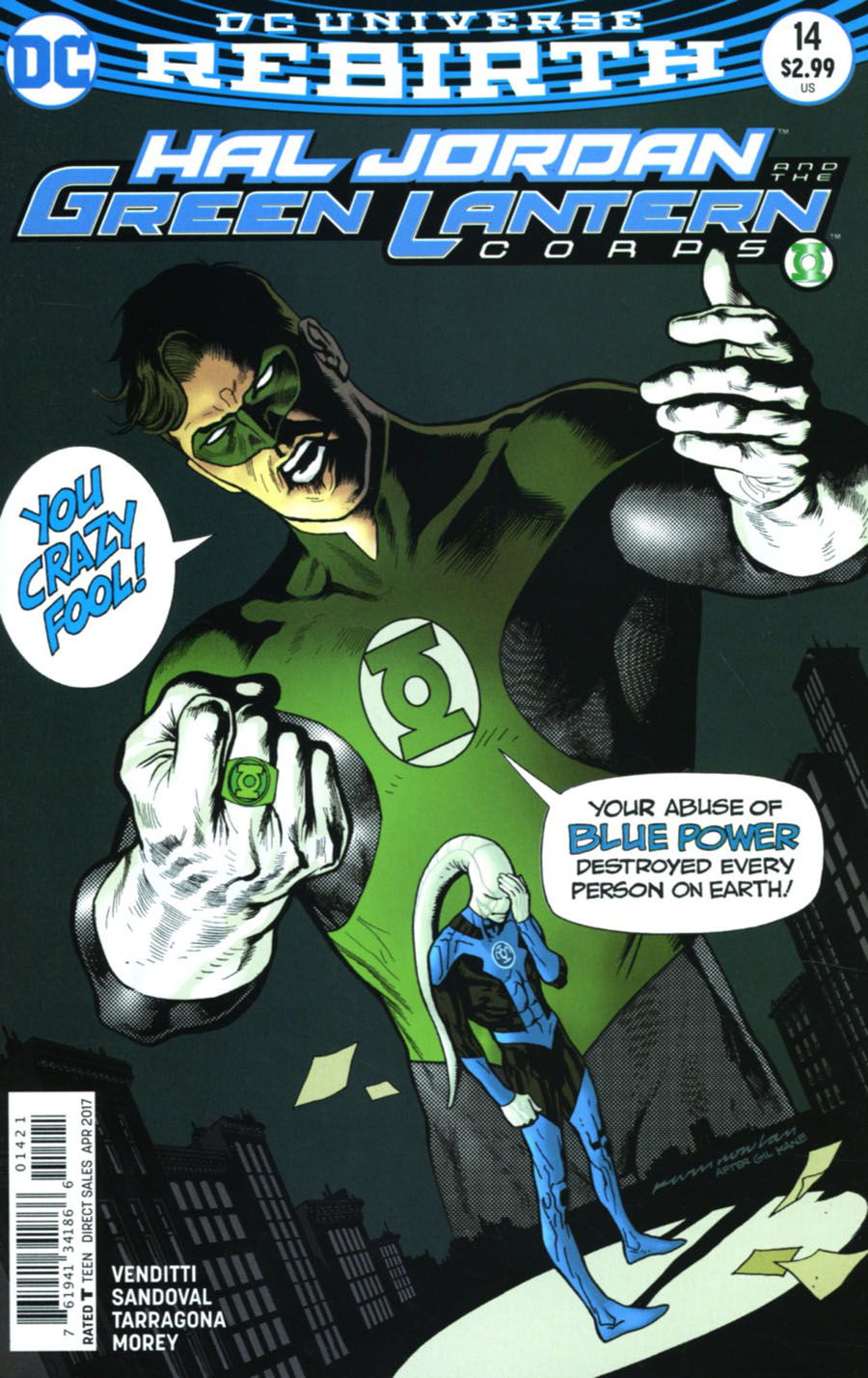 Hal Jordan And The Green Lantern Corps #14 Cover B Variant Kevin Nowlan Cover