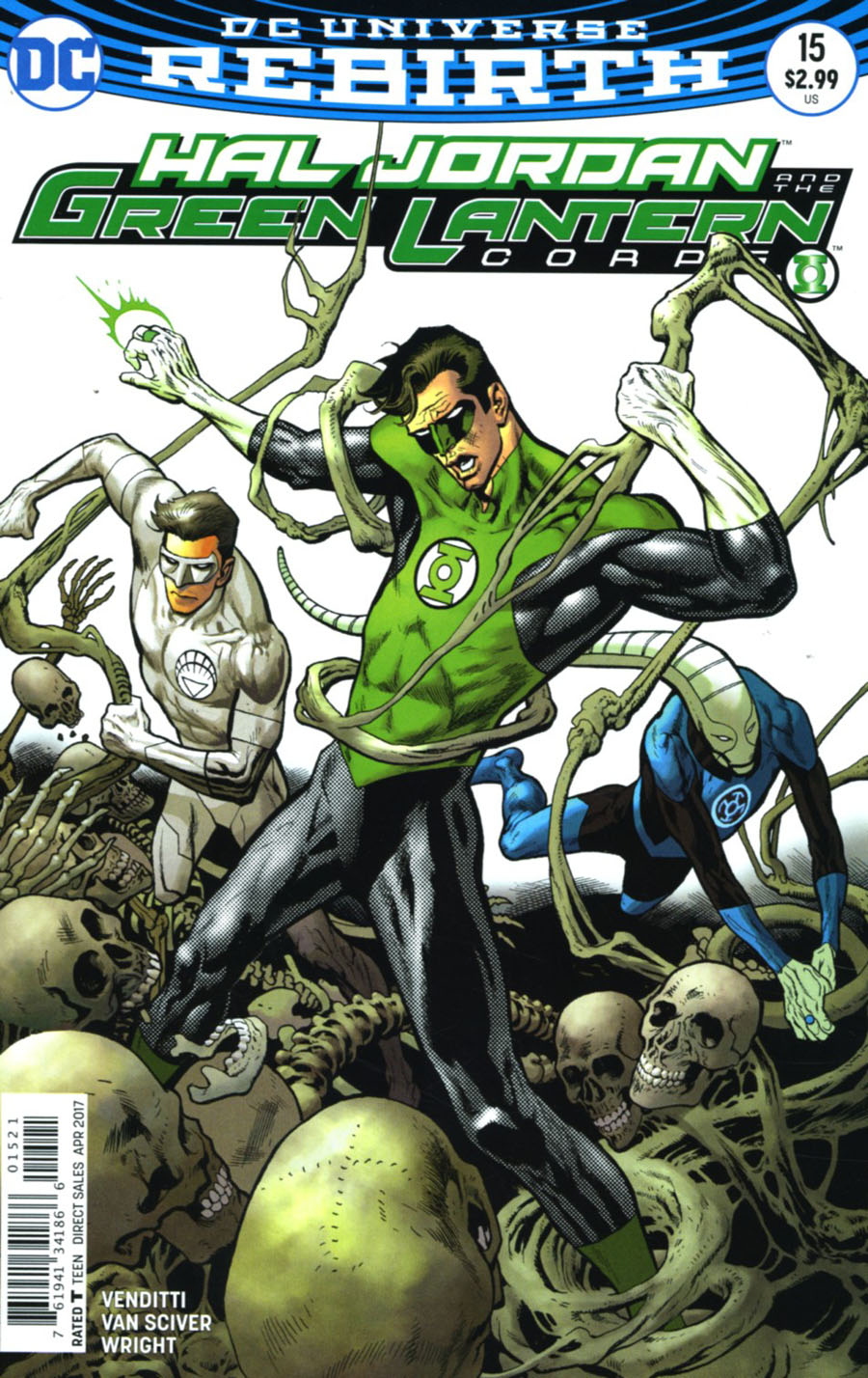Hal Jordan And The Green Lantern Corps #15 Cover B Variant Kevin Nowlan Cover