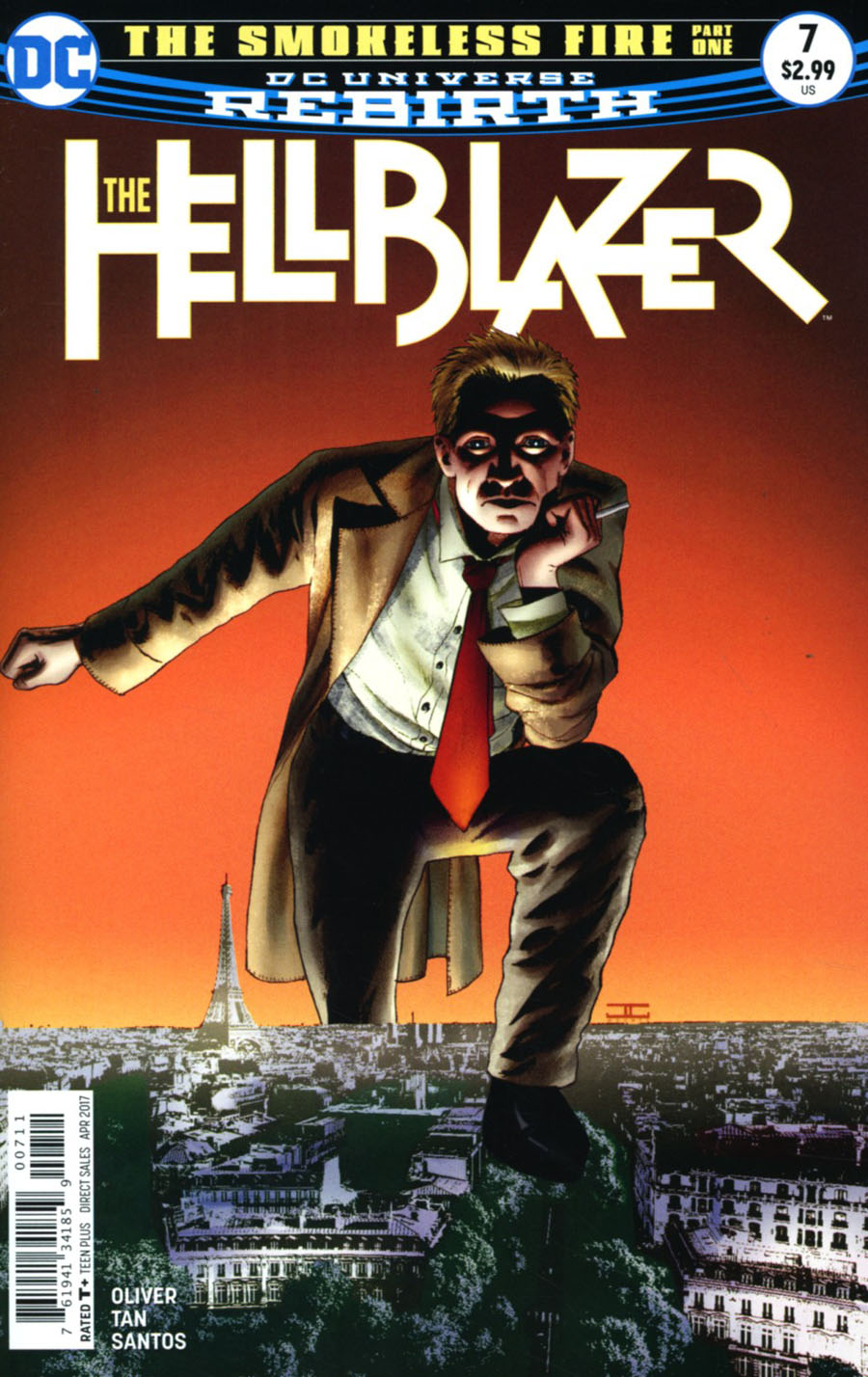 Hellblazer Vol 2 #7 Cover A Regular John Cassaday Cover